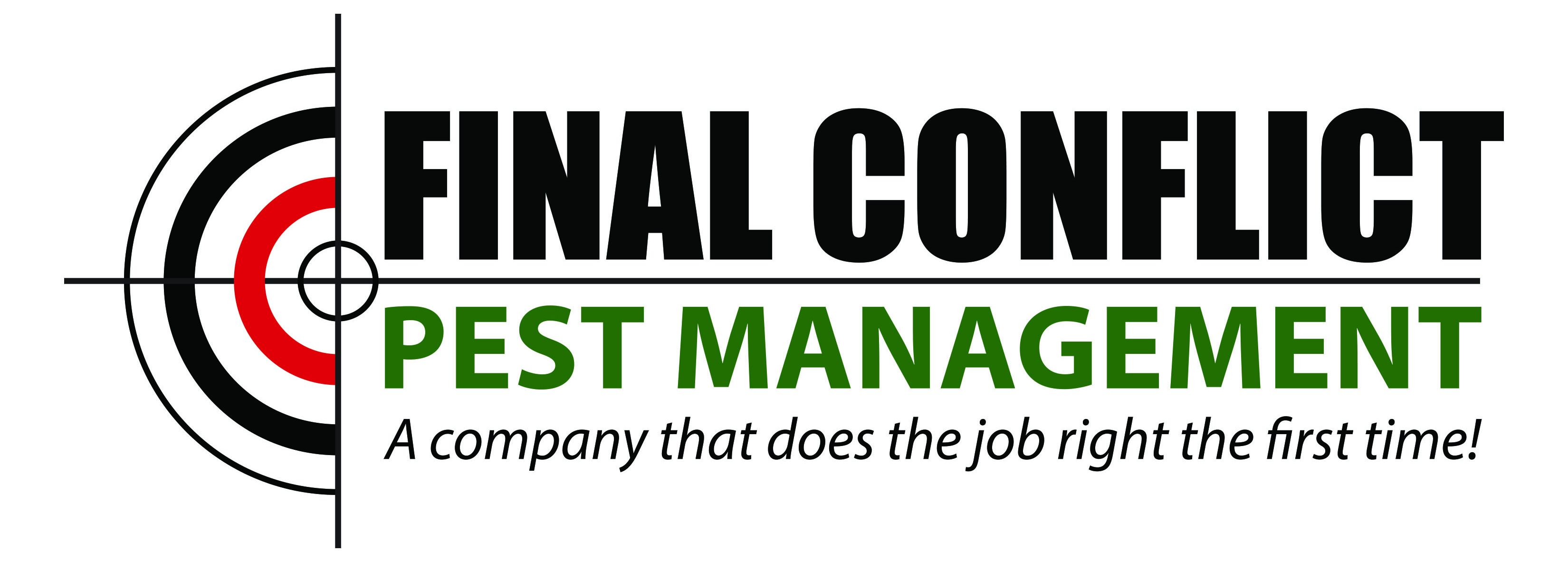 Final Conflict Pest Management